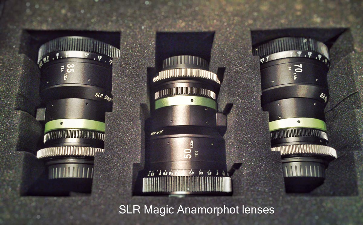 08 SLR Magic Anamorphot lenses