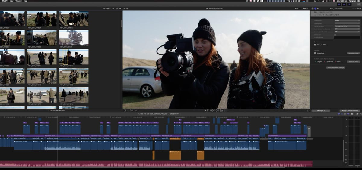 22 FCPX