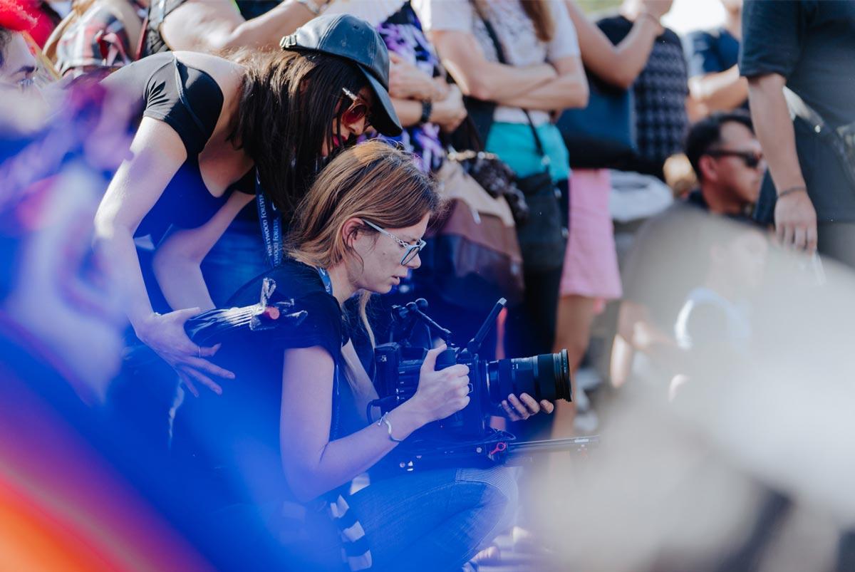 Apple Aspiring Filmmakers Jean Balest Elle Schneider 20180117