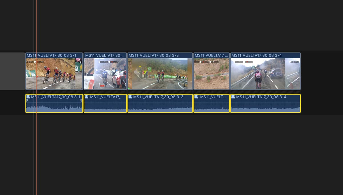 Auto Applying Audio Fades to Groups of Clips in Final Cut Pro X