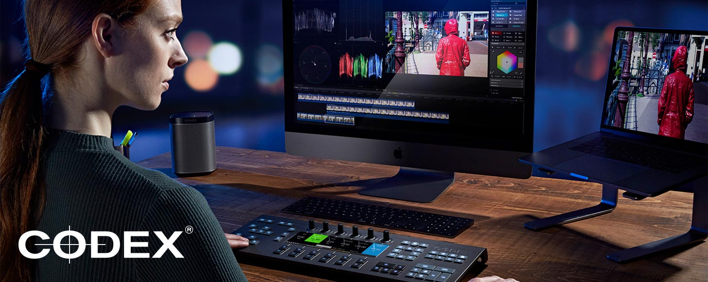 Codex Announce ColorSynth Plugin and Codex Keys Control Surface for Final Cut Pro X at BVE
