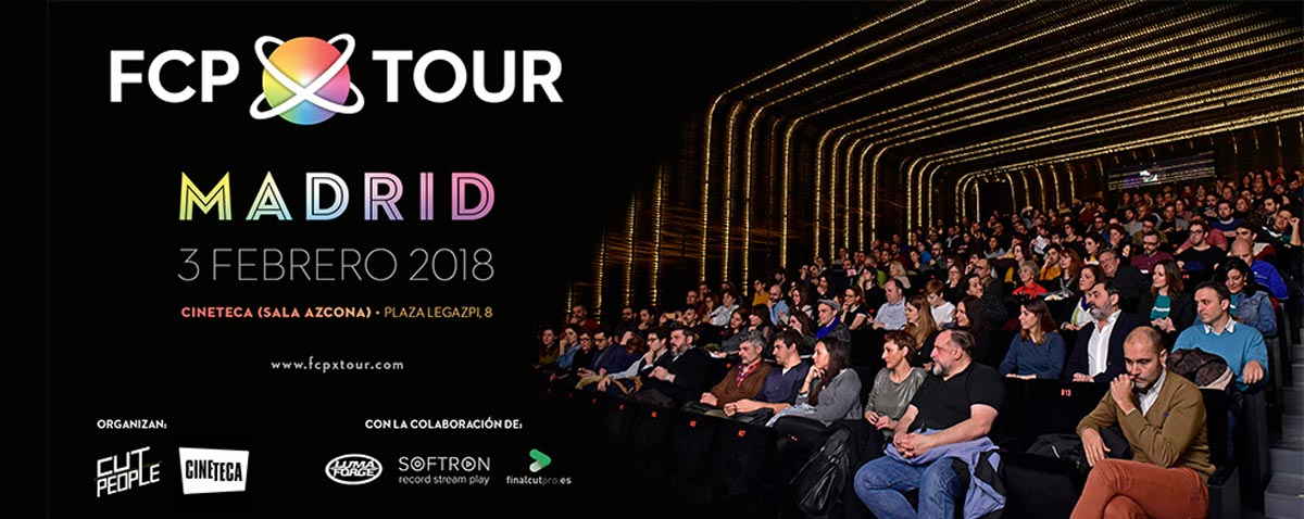 FCPX Tour Madrid Attracts the Cream of Spanish Media and Entertainment and Sells out in Just One Day