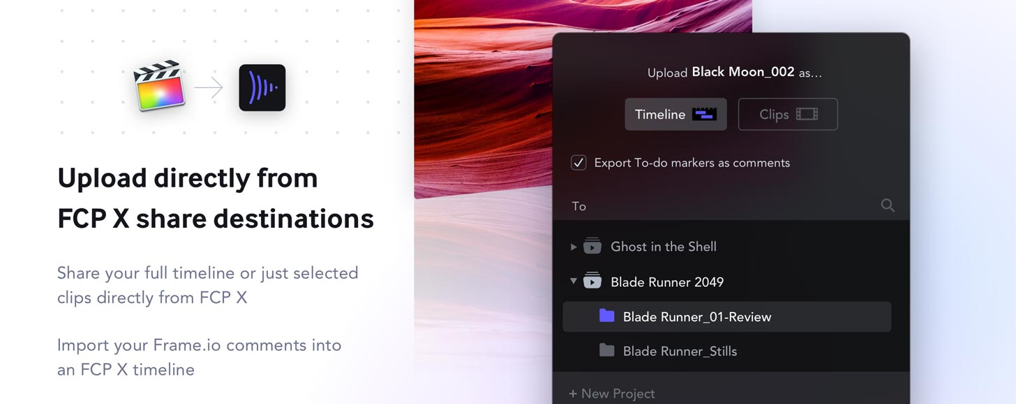 Frame.io Announces High-Speed File Transfers with macOS Menubar App