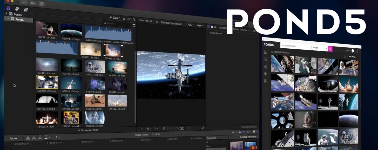 Stock Footage Company Pond5 Announce App for Final Cut Pro X