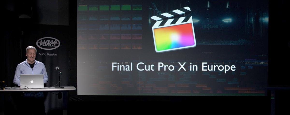 Why Final Cut Pro X is HUGE in Europe