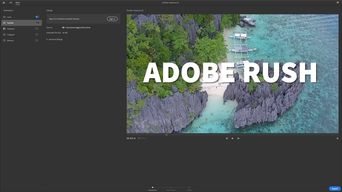 adobe rush fcpco 11