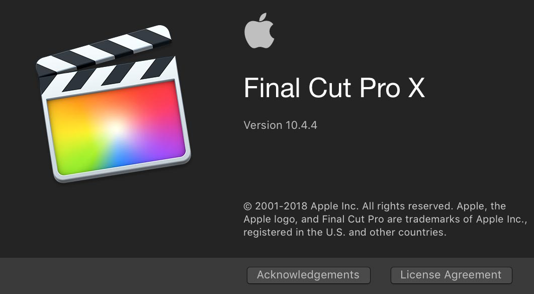 Apple Update Final Cut Pro X To 1044 Motion To 542 And