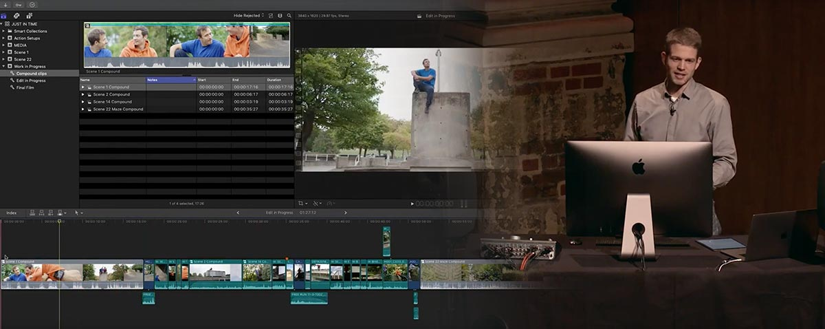 Hour and a Half Film Making Masterclass with Final Cut Pro X