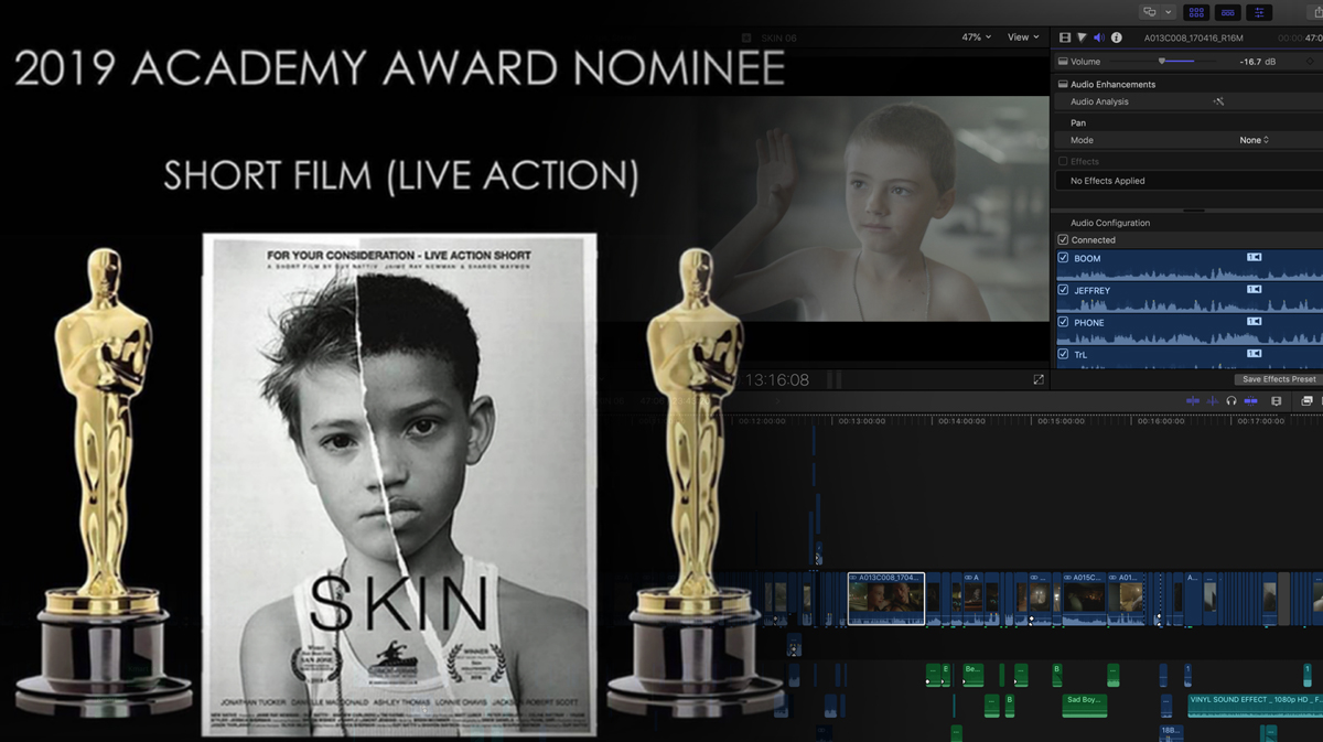 Surprising Anti-racist Short Movie Edited with Final Cut Pro