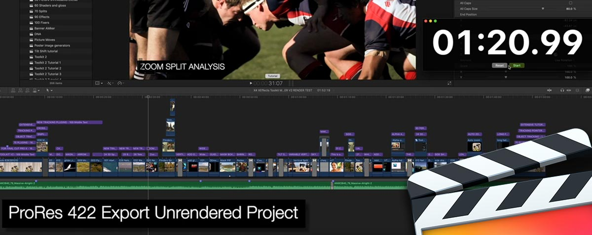 Does Rendering a Final Cut Pro X Project Speed up the Export?