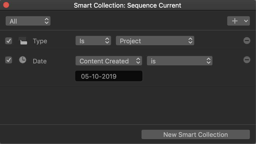 Sequence Smart Collection