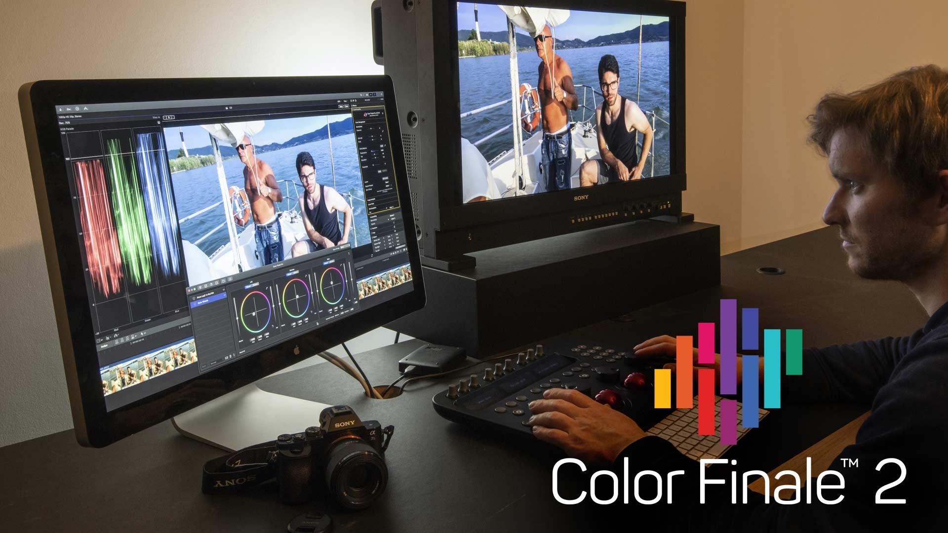 color finale 2 FCPX banner