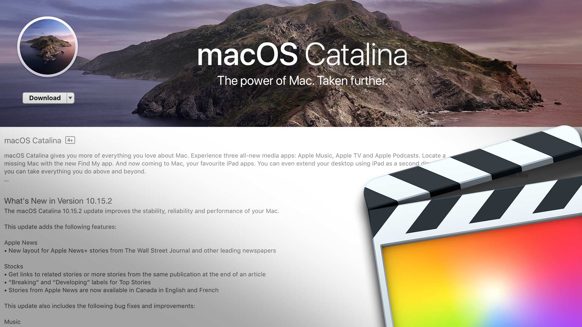 Final Cut Pro X 10 4 8 and macOS Catalina 10 15 2 Released