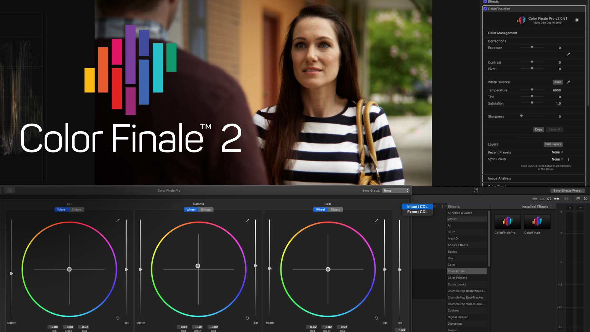 Advanced Colour Grading in Final Cut Pro X With Color Finale 2