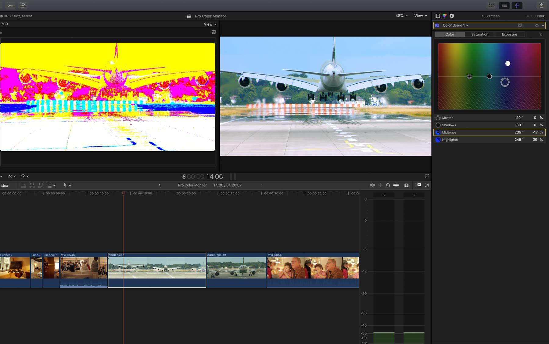 pro color monitor fcpx 1