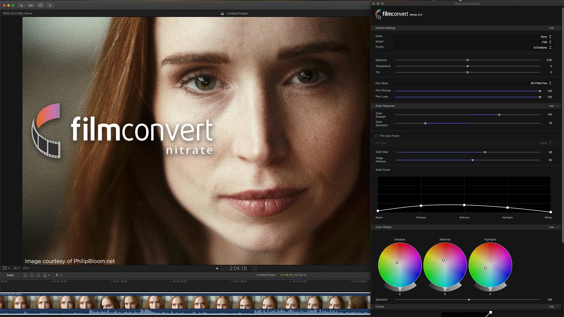 Emulate Film in Final Cut Pro X with FilmConvert's Nitrate