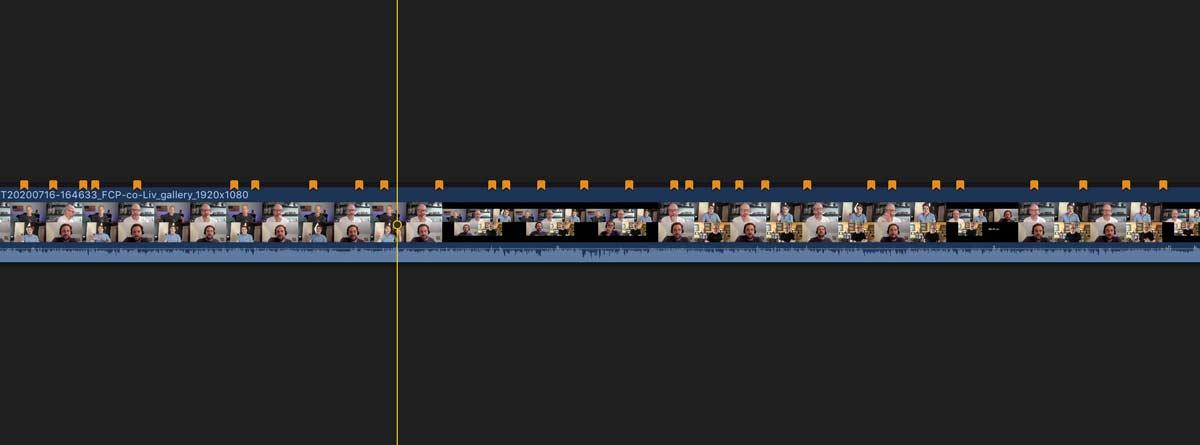 creators best friend FCPX timeline