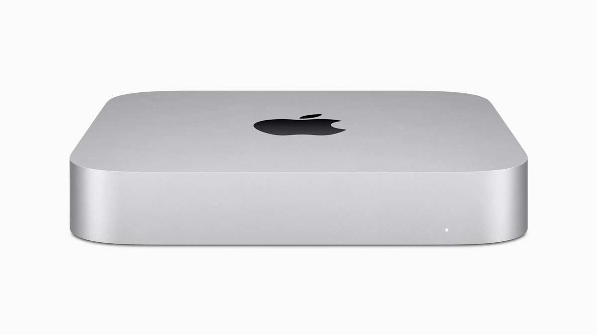 Apple new mac mini silver 11102020