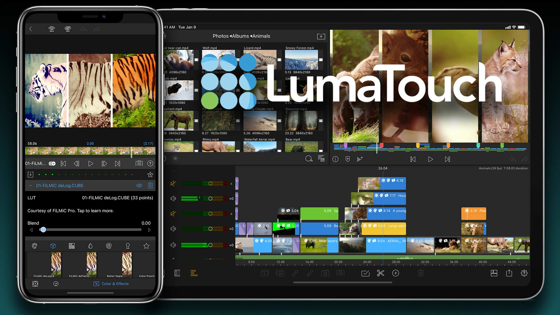 LumaFusion Gets HDR Support and 10-Bit Processing