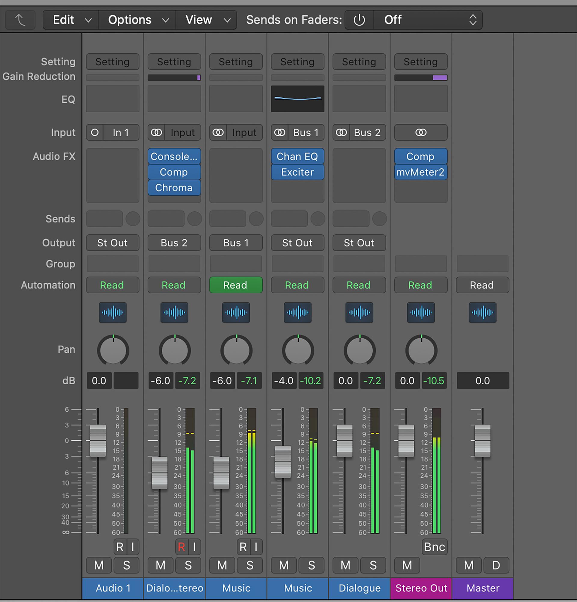 final cut pro mix audio 8