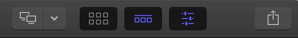 fcpx interface top right