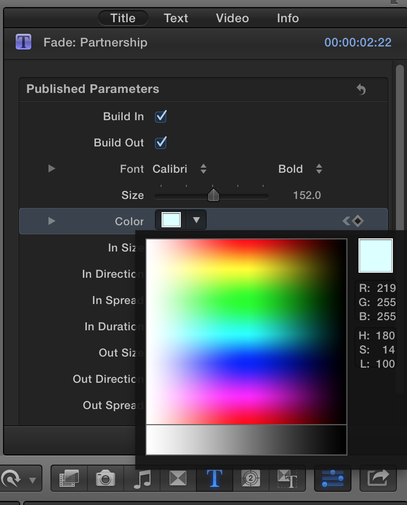 fcp co forum topic changing rgb values of text in titles 1 1 rh fcp co Final Cut Pro 7 Torrents Final Cut Pro 7 Torrents