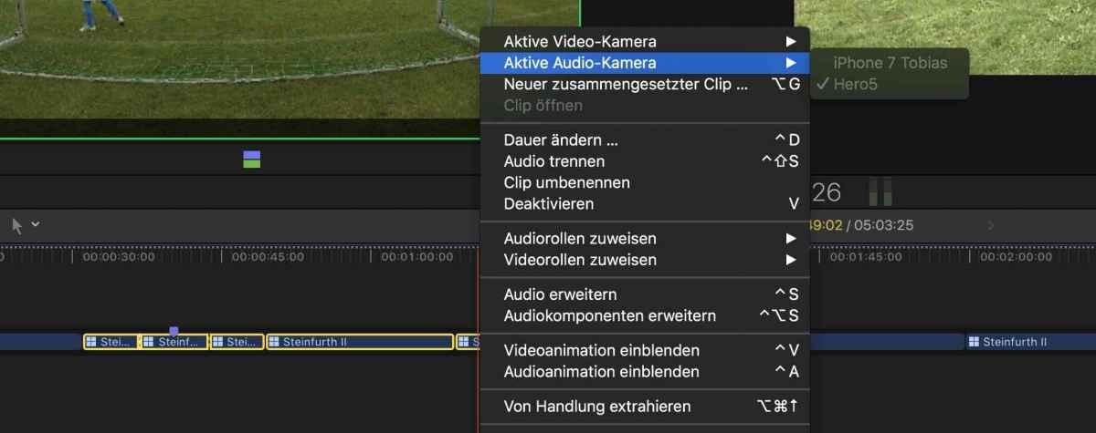 video und audio trennen