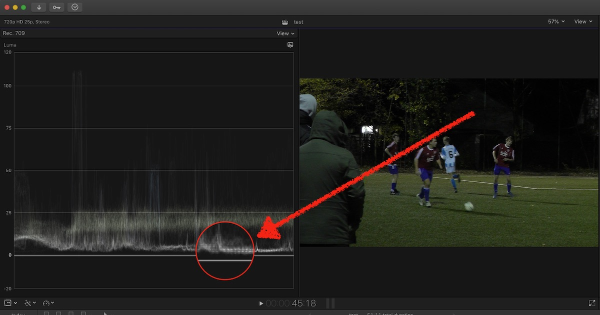 FCP co Forum :: Topic: Strange Infra Green Color Appears In Video
