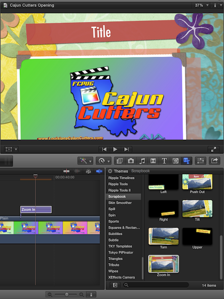 FCP co Forum :: Topic: insert still photo in one of final cut pro
