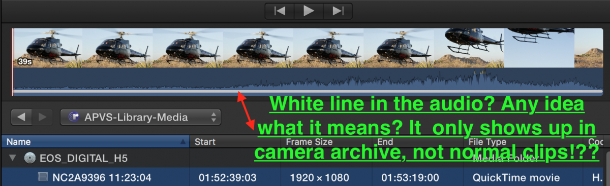 FCP co Forum :: Topic: White lines, what does it mean?? (1/1)
