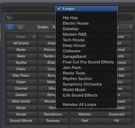 FCP co Forum :: Topic: Show Logic X and garageband Loops