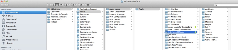 FCP co Forum :: Topic: Using Garageband SFX in FCPX (1/1)